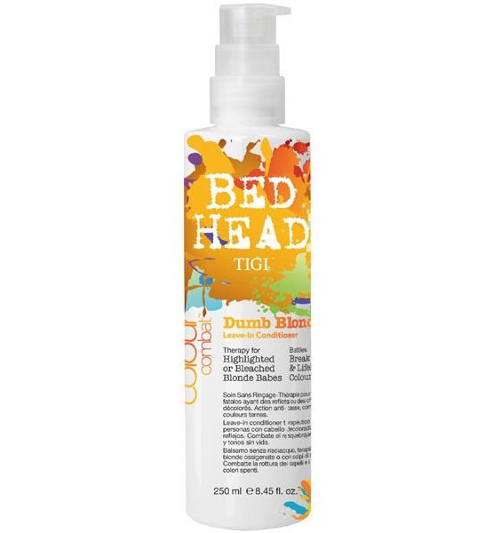 Tigi Bed Head Dumb Blonde Leave In Conditioner 250ml Crystal